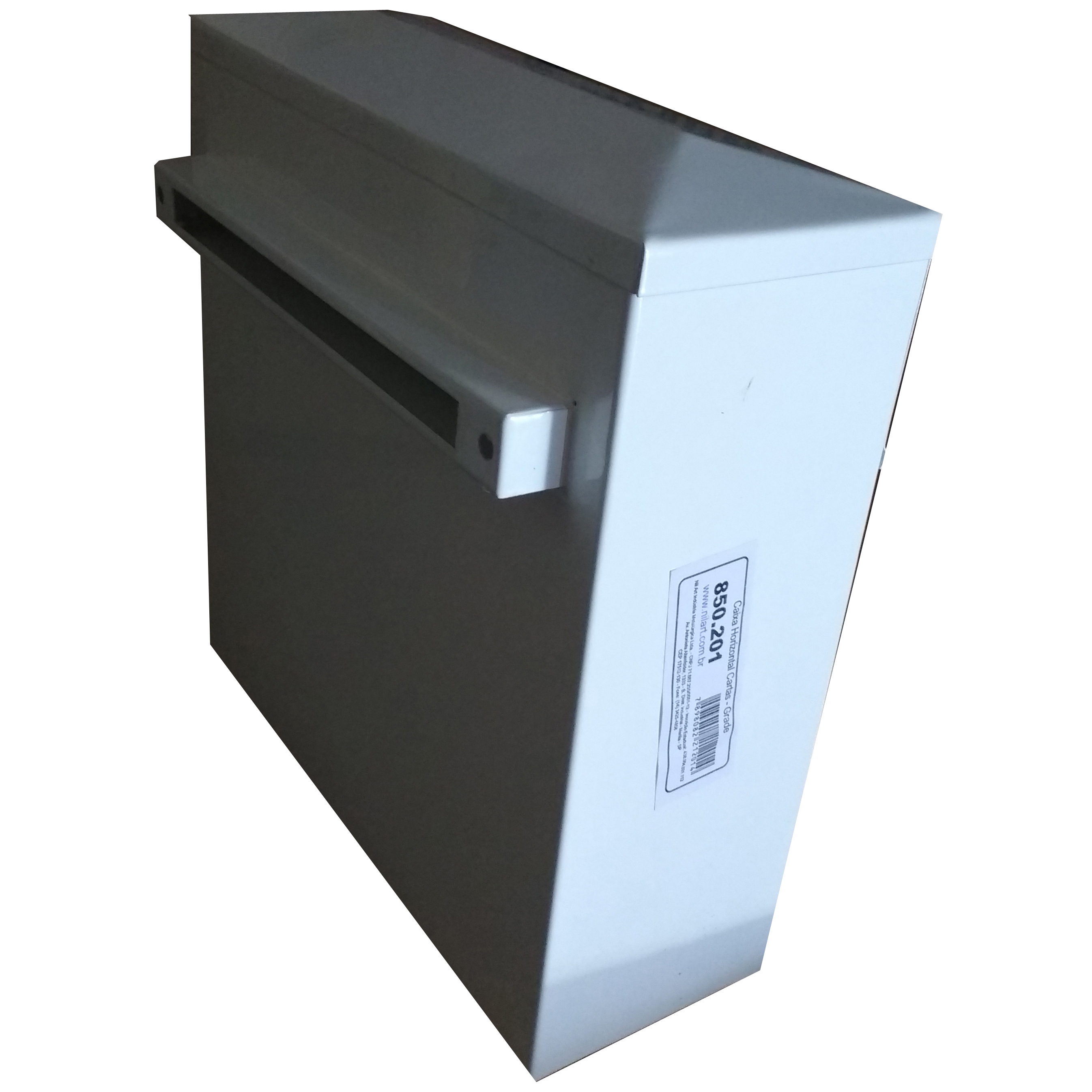 Caixa de Correio para Grade Horizontal Vao 2 cm